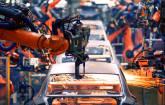 Serienfertigung mit Robotern