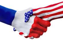 Frankreich und USA schütteln die Hände
