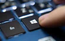 Windows-Symbol auf Tastatur