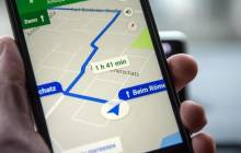 Google Maps auf Smartphone