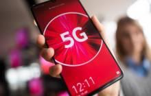 5G-Symbol auf Smartphone-Screen