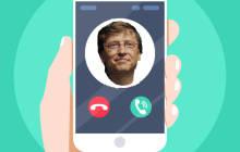 Microsoft Anruf