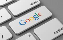 Google-Tasta auf Tastatur