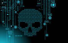 Digitaler Totenschädel
