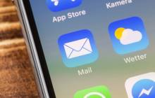 E-Mail-App auf dem iPhone