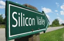 Straßenschild zum Silicon Valley