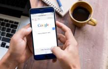 Google-Page auf Smartphone