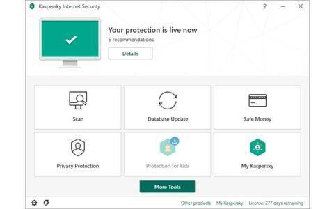 Kaspersky Internet Securitx
