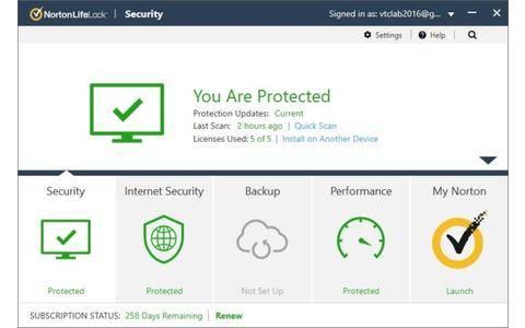 Norton Life Look Security