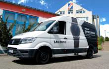 Der Repair-Bus von Samsung