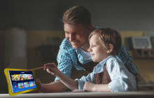 Das Alcatel-Tablet für Kids