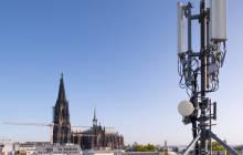 Antennenstandort von Telefónica in Köln