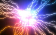 Abstrakte Darstellung von Quantencomputing