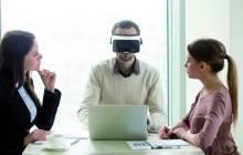 Meeting mit VR-Unterstützung