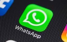WhatsApp Messenger App auf Smartphone-Screen