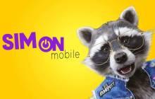Werbefigur von SIMon mobile