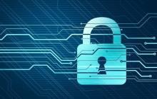 Sicherheit von Internetdaten mit Schloss