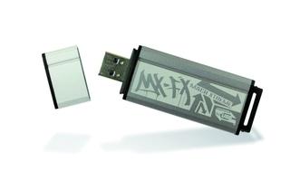 Mit 300 MByte/s liest der Mach Xtreme MX-FX Daten aus und ist damit der schnellste im Test.