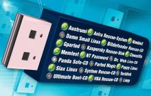 20 Live-Systeme für USB-Stick und DVD