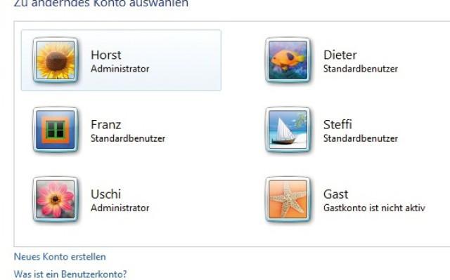 Windows 10 administrator ändern