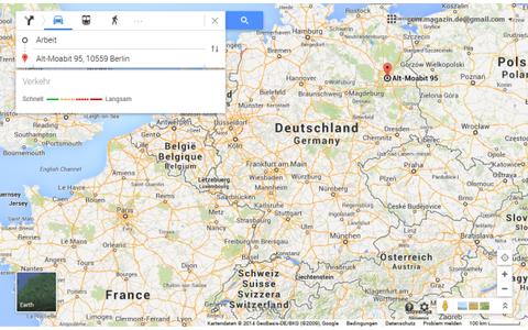 7 Tipps und Tricks zum neuen Google Maps - com! professional