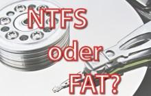 Dateisysteme erklärt: FAT, exFAT und NTFS