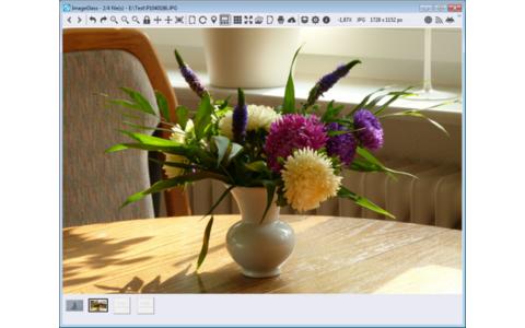 ImageGlass ist ein Bildbetrachter für Dateien der Formate JPG, BMP, GIF, PNG, TIF und ICO. Eine Rotations- und Zoom-Funktion sowie eine Bildbreiten- und Bildhöhen-Skalierung sind integriert.