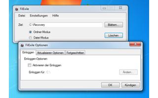 Filexile - Filexile löscht Dateien und Ordner, die sich unter Windows nicht entfernen lassen. Im Programmfenster wählen Sie die Datei oder den Ordner aus, den Sie löschen möchten. Des Weiteren lässt sich das Tool auch über die Kommandozeile verwenden. Inf