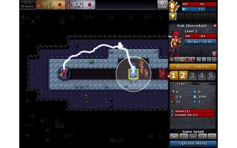 Defender's Quest: Valley of the Forgotten - Defender's Quest ist ein vielversprechender Genre-Mix aus Tower-Defense- und Rollenspiel-Elementen. Als Zauberin Azra beschwören Sie mächtige Gefährten, die Sie beim Kampf gegen Ihre zahllosen Widersacher unters