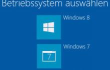 Der Boot-Manager von Windows 8