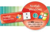 Notfall-Windows mit allen Treibern