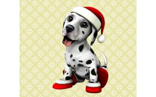 DogWorld 3D Weihnachten - Die Kinder wünschen sich einen Hund? Sollen sie haben - allerdings nur in der virtuellen Version. Der Dalmatiner Dogworld 3D wartet im Amazon App Store, haart nicht und bellt nur ganz leise.