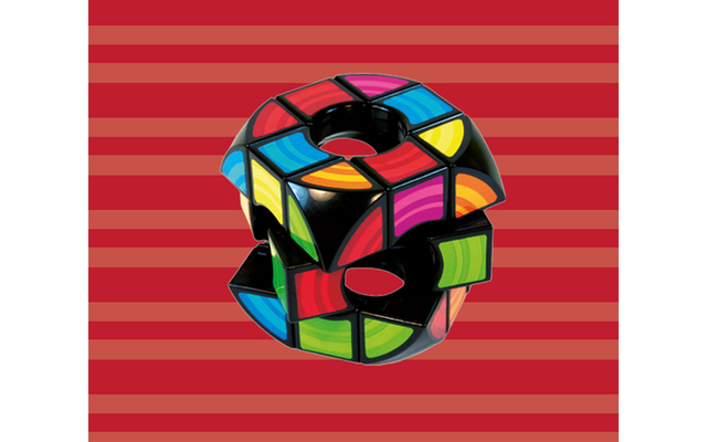 Rubik's The Void Puzzle - Der Klassiker. Jetzt mit Loch in der Mitte - und dem neuen Namen Rubik's The Void Puzzle