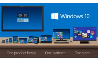 Ein Windows 10 für alle: Microsoft will sich den Ärger mit unterschiedlichen Windows-Versionen sparen und sich auf ein einziges Betriebssystem konzentrieren.