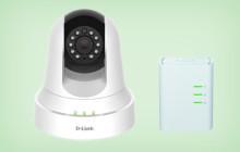Die Stand-alone-Lösung von D-Link besteht aus der IP-Kamera DCS-6045L sowie dem Powerline Mini Adapter DHP-308AV. Der empfohlene Verkaufspreis liegt bei 150 Euro.