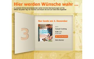 Bücherfreunde finden bei Buch.de jeden Tag ein Buch im Angebot - das müssen sie aber bis neun Uhr am Folgetag einlösen.