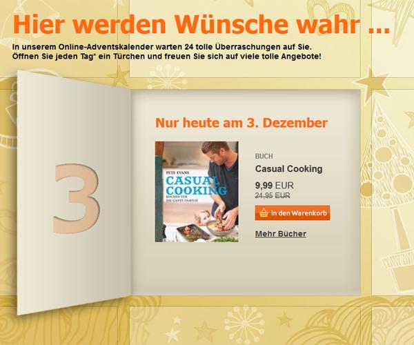 Die schönsten Adventskalender im Netz - com! professional