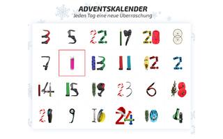 24 mal sportliche Adventsüberraschungen gibt es bei Fahrrad.de.
