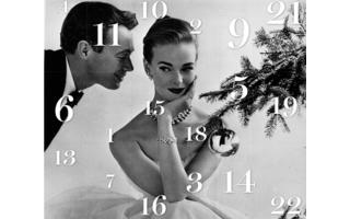 """Durchaus schick ist auch der Adventskalender von Fahsionchick, im edlen Retro-Look. Dieser Kalender richtet sich speziell an """"Frauen, die eine Belohnung verdient haben""""."""