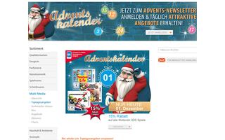 Sonderangebote verspricht auch der Drogeriemarkt Müller. Dazu müssen Kunden sich allerdings vorher für den Advents-Newsletter anmelden.
