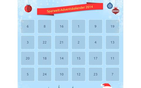 Bei Sparwelt.de gibt es bis zum 24. Dezember jeden Tag ein Türchen mit Rabatten für Einkäufe bei verschiedenen Online-Shops. Weitere Kalender gefunden? Dann bitte in den Kommentaren darauf hinweisen.