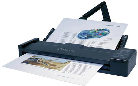 IRIScan Pro 3 WiFi - Unterwegs die Visitenkarten digitalisieren und die Daten anschließend über WLAN tauschen. Der IRIScan Pro 3 WiFi macht's möglich. Der mobile Scanner erfasst dank des LiIon-Akku mit 1700 mAh bis zu 200 A4-Seiten in Farbe.