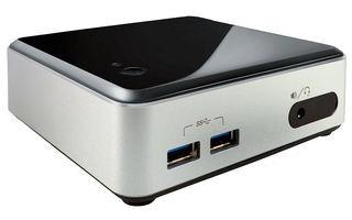 Intel NUC-Kit D54250WYK - Der Mini-Rechner mit Intel Core i5-4250U CPU der vierten Generation bietet für die meisten Anwendungen ausreichend Power. Der 117 x 35 x 112 mm kleine Barebone benötigt nur noch RAM-Module und eine mSATA-Platte.