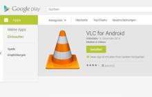 Der VLC Media Player verlässt jetzt auch für Android die Beta-Phase und ist im Google Play Store in der Version 1.0.0 erhältlich. Abstürze unter Android 5.0 sollen damit Geschichte sein.