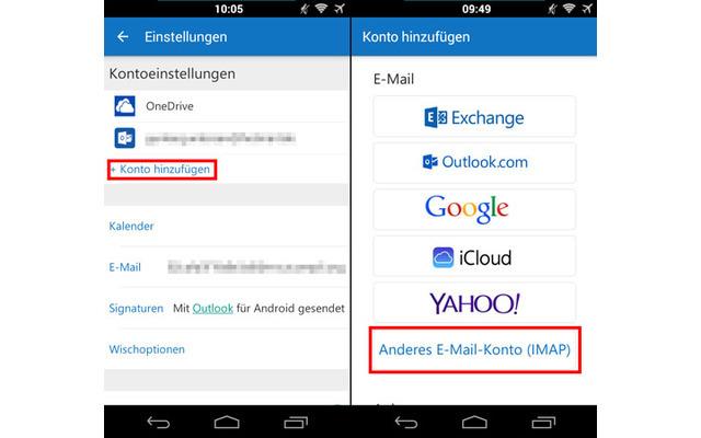 Das kann die Outlook-App für Android und iOS - com! professional