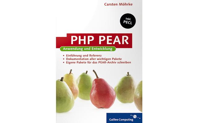 PHP PEAR: PEAR bietet zahlreiche Bibliotheken und nützliche Hilfsmittel für PHP-Entwickler, die sich auf einfache Weise in bestehende PHP-Installationen integrieren lassen.