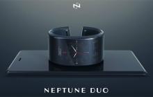 Neptune Duo Smartwatch mit Zusatz-Display