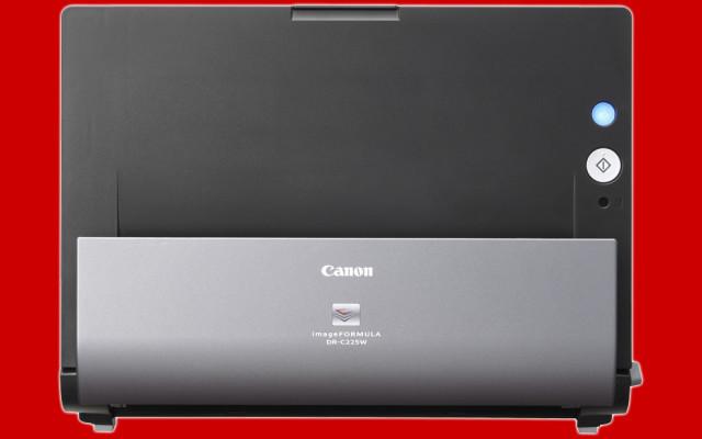 Canon Dr C225w Dokumentenscanner Im Test Com Professional
