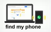 Google Find my Phone