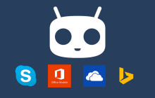 Cyanogen mit Microsoft Apps